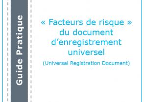 Guide pratique : « Facteurs de risque » du document d'enregistrement universel (URD)