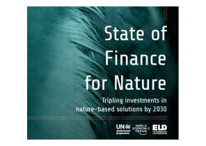 State of Finance for Nature. ONU.  27 mai 2021